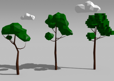 Make Like Low Poly Trees and Get Out of Here